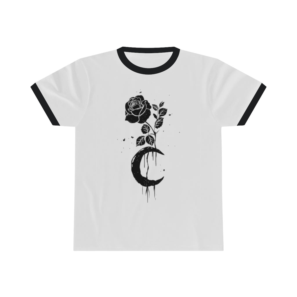 Rose Moon Love Spell Ringer Tee