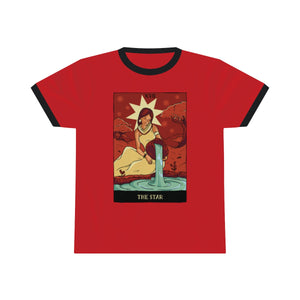 The Star Tarot Ringer Tee
