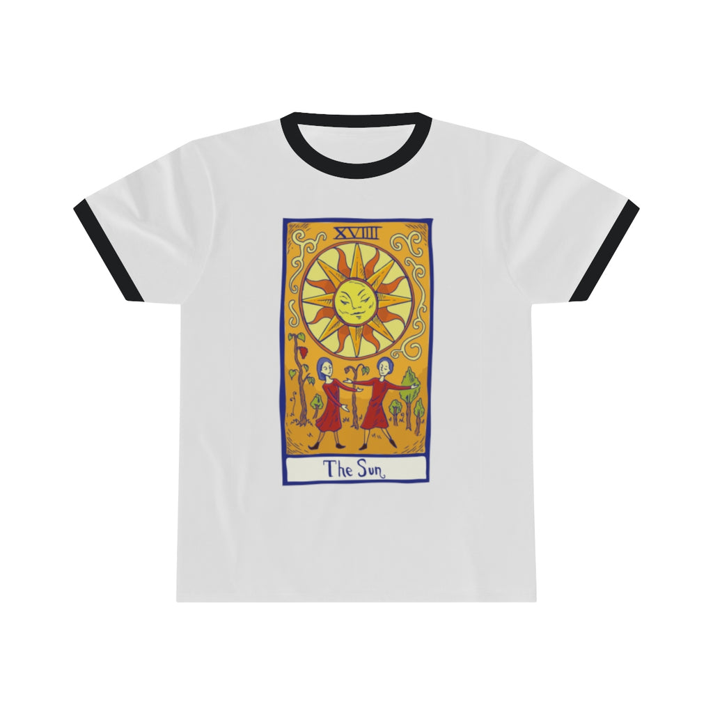 The Sun Tarot Ringer Tee