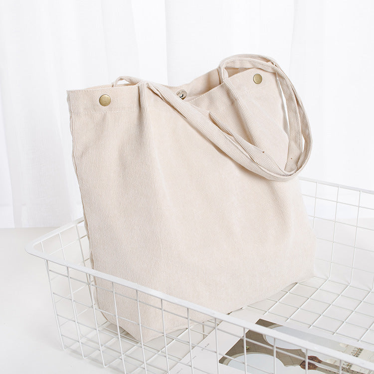 Slouched Beach Bag (Stone)