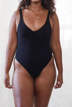 Load image into Gallery viewer, Biarritz One-piece (Black)