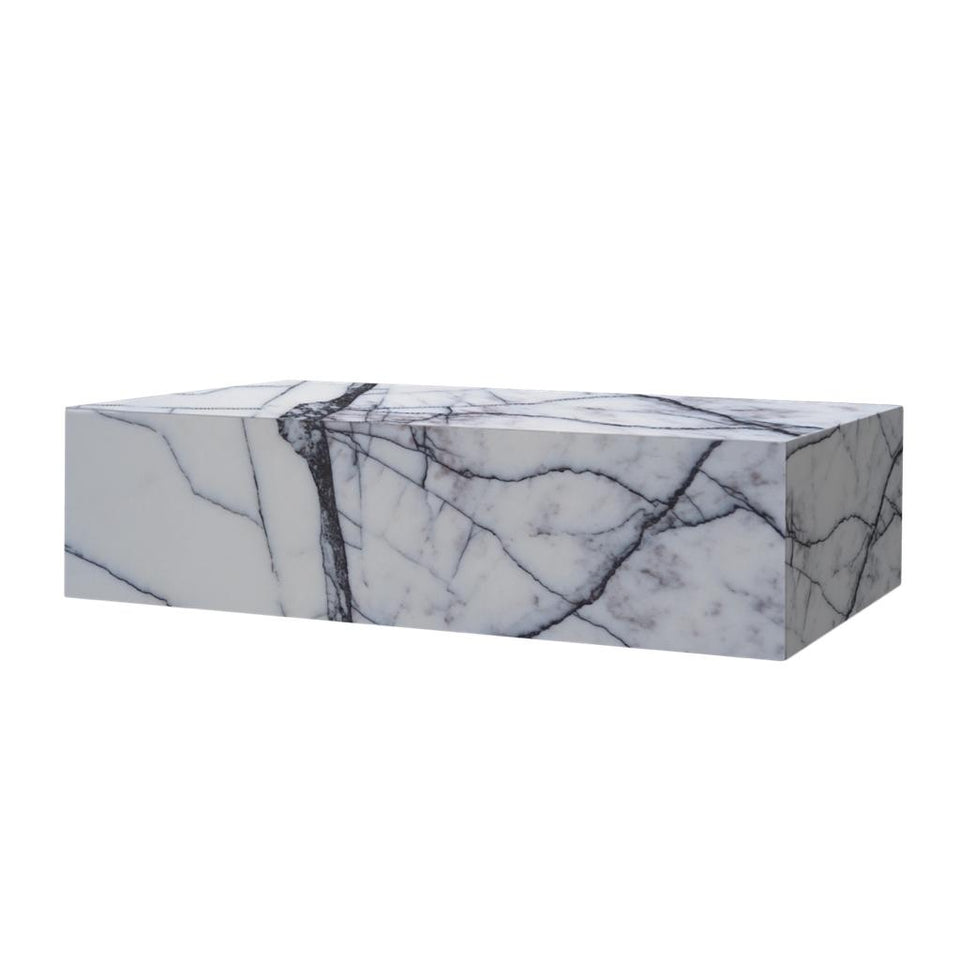 Marble Lilac Milas Coffee Table