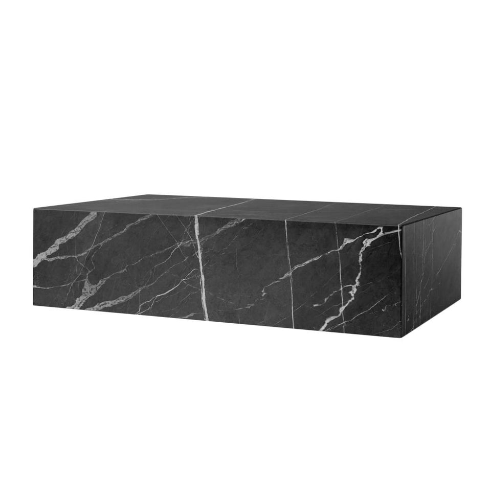 Marble Nero Marquina Plinth Coffee Table