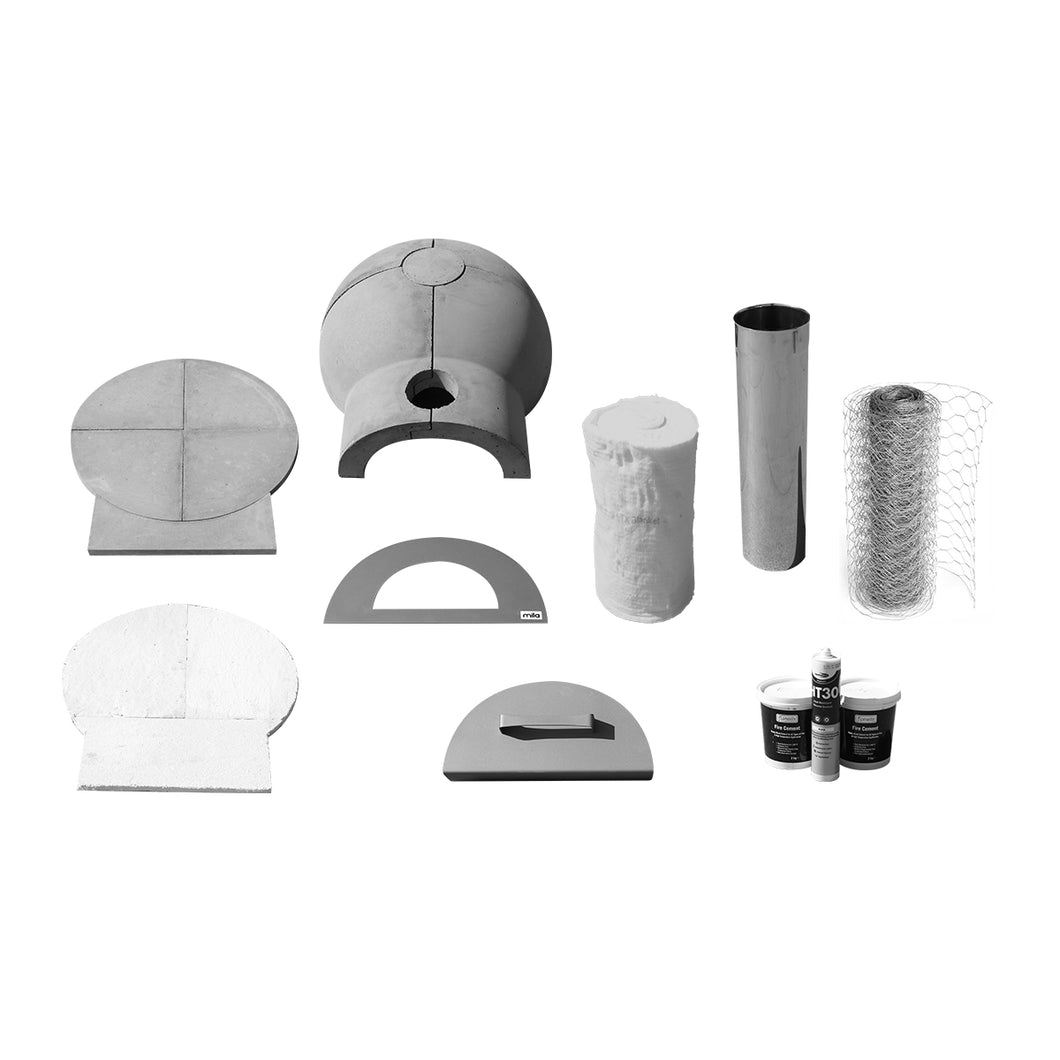 Mila 60 oven - kit without shell