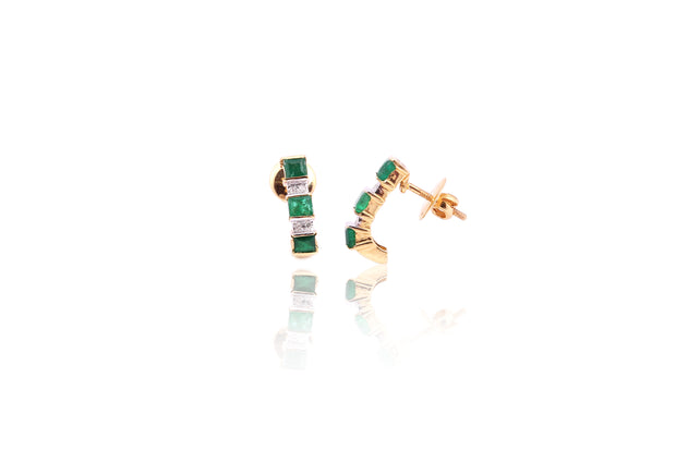 Emerald diamond balis