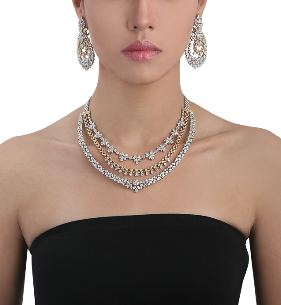 Enamor Diamond Necklace