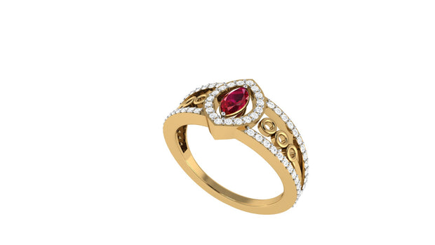 Ruby Marquee Ring