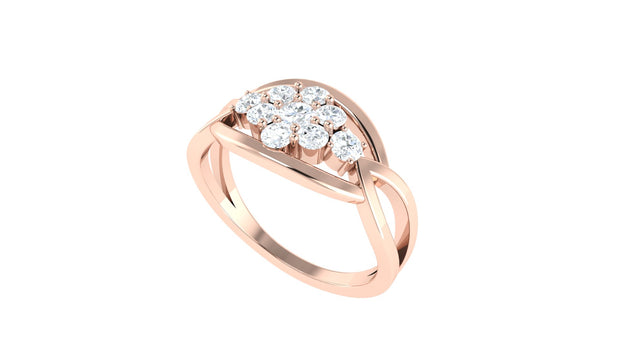 Rouge Diamond ring