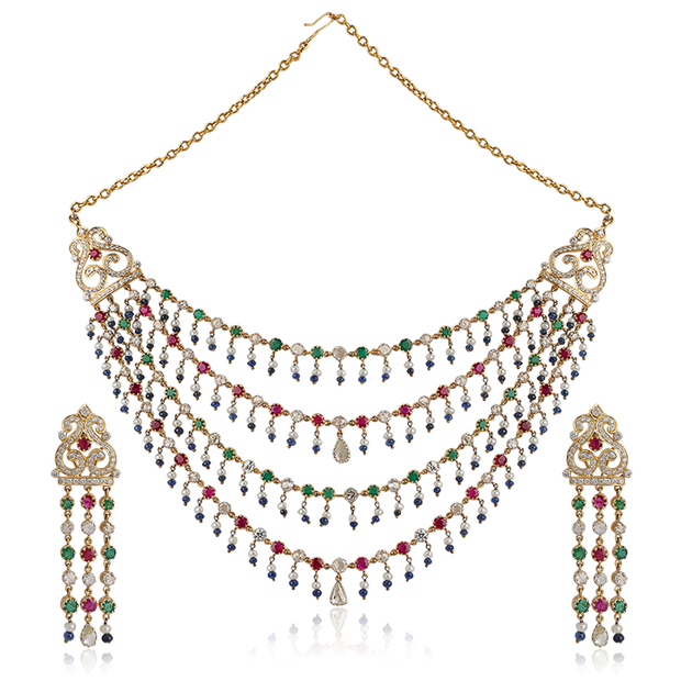 Regent Multicolor Necklace
