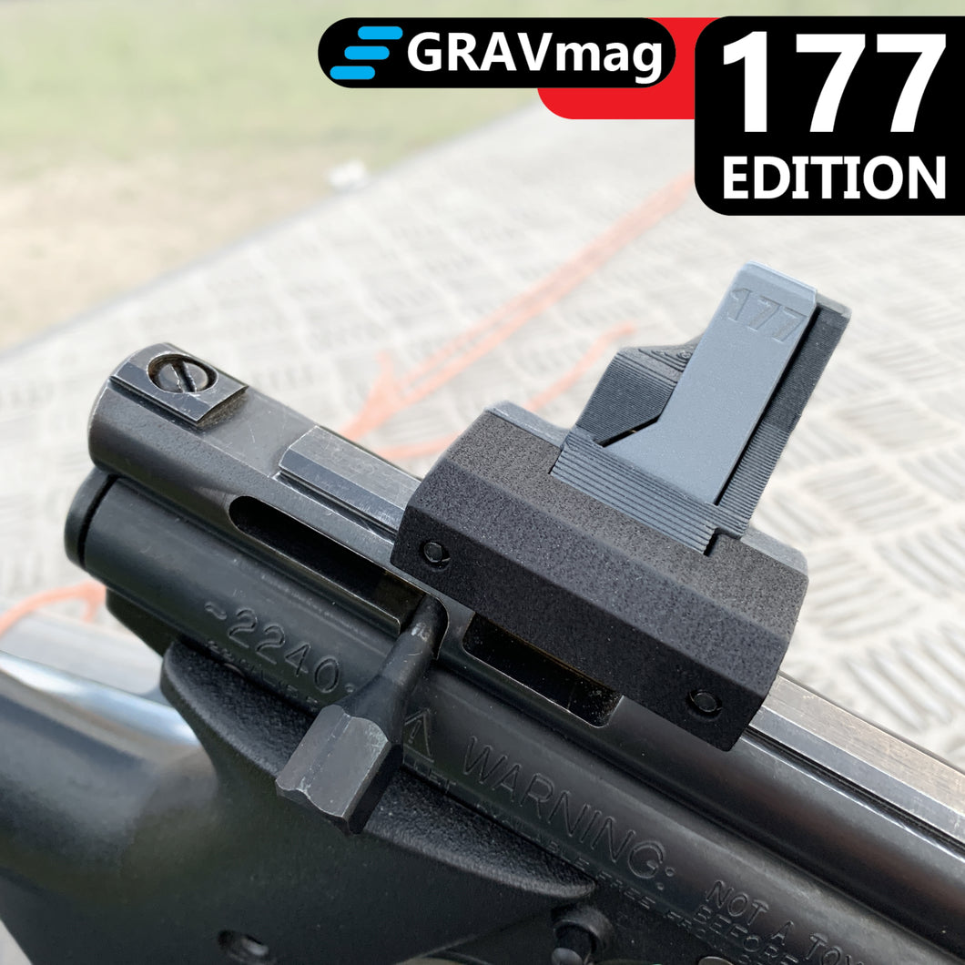 GRAVmag 177 Edition Magazine For Crosman 2240 2250 Steel Breech and Benjamin Discovery