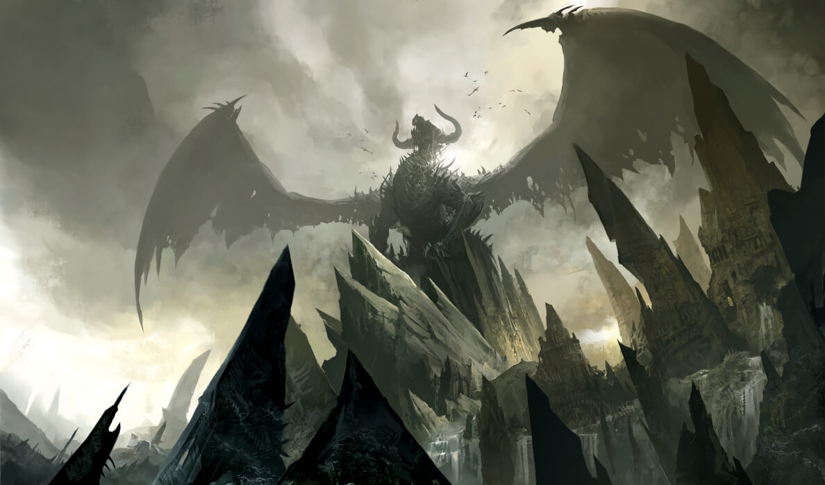 Dragons Morgoth