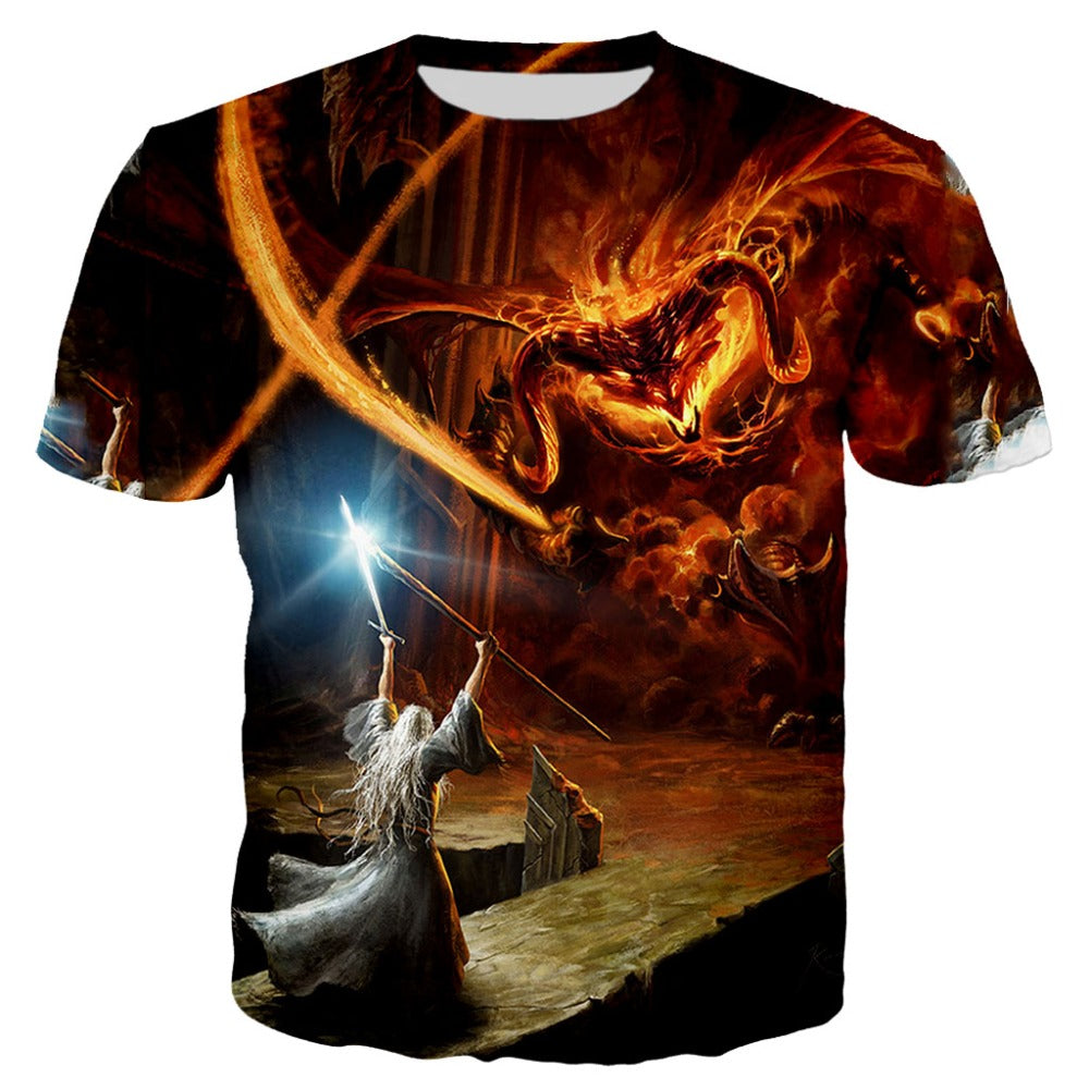 T-Shirt Gandalf VS Balrog