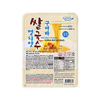 Anchovy Flavor Guava Rice Noodles (6 Pack)