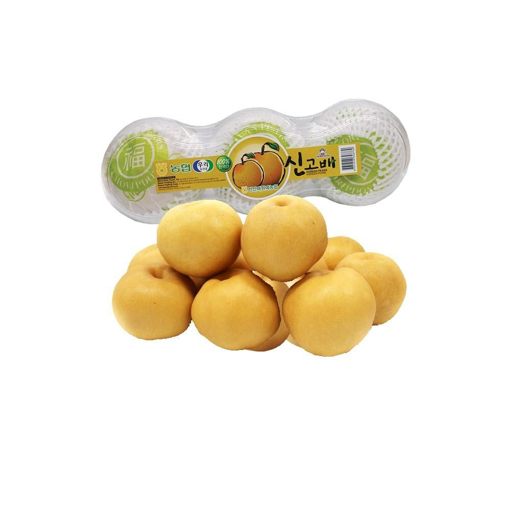 Korean Singo Pear 3 Pieces - pack