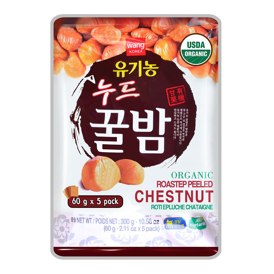 Wang Organic Roasted Peeled Chestnut