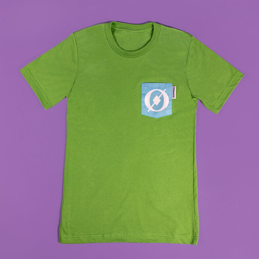 Pocket Shirt - Green & Blue