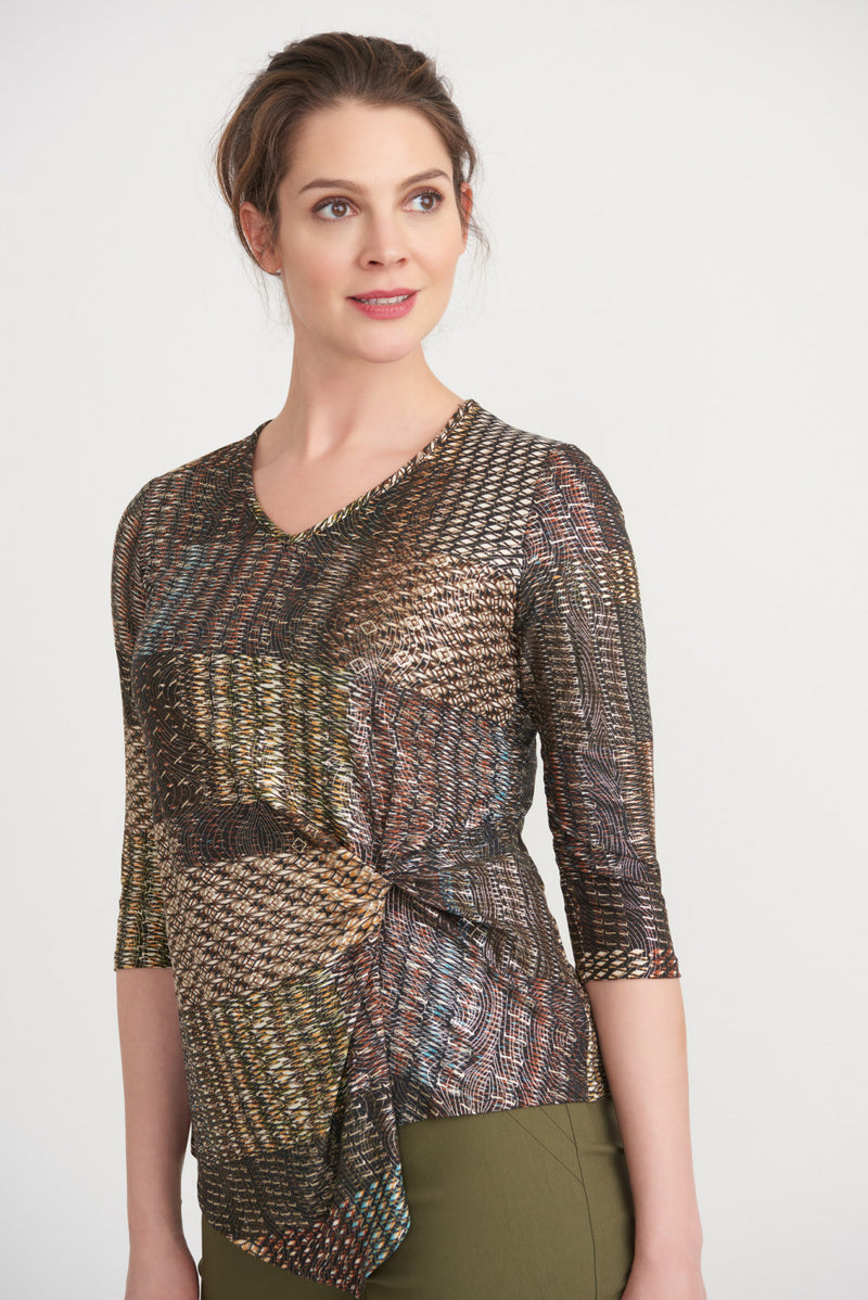 Joseph Ribkoff Twist Top