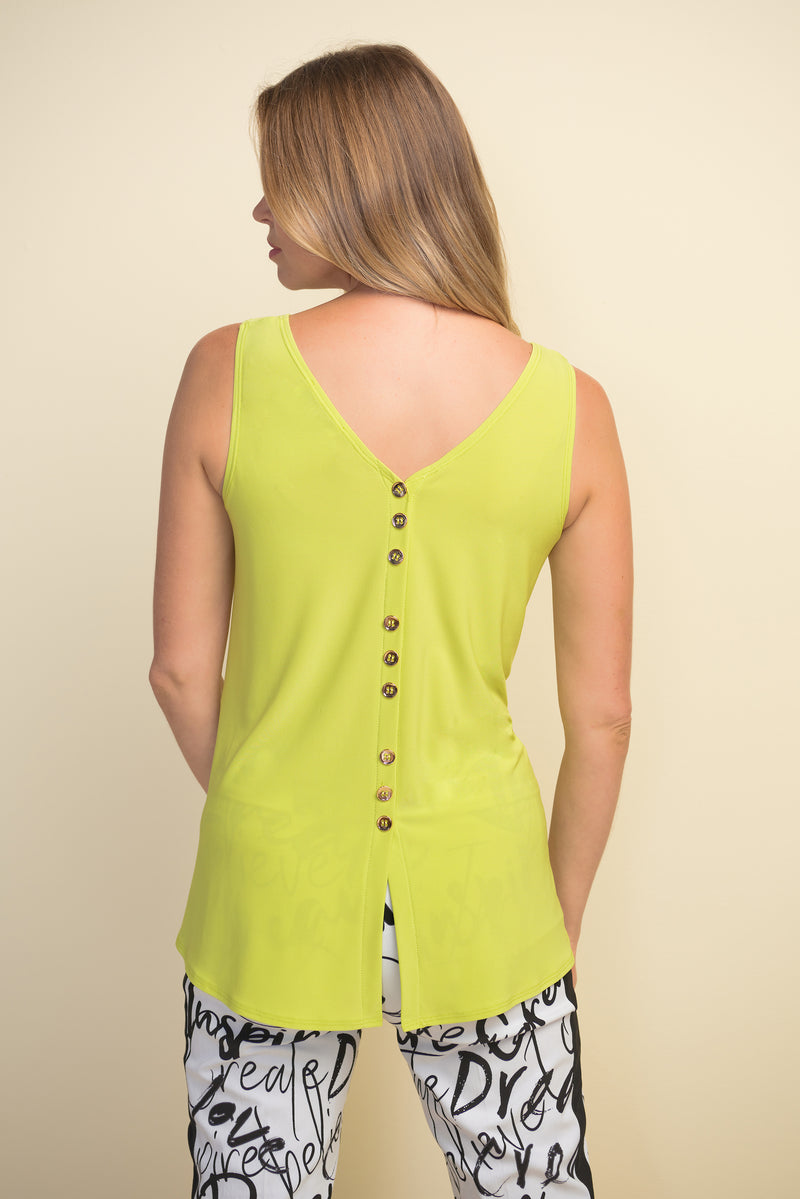 Joseph Ribkoff Back Button Top