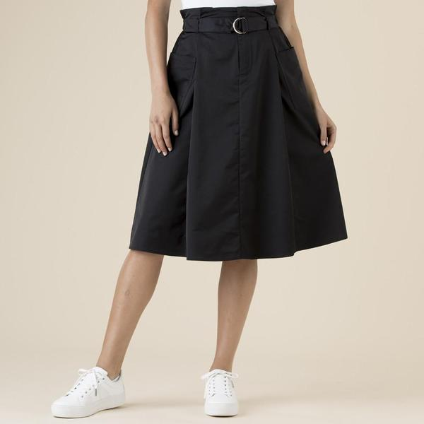 Clarity Box Pleat Skirt