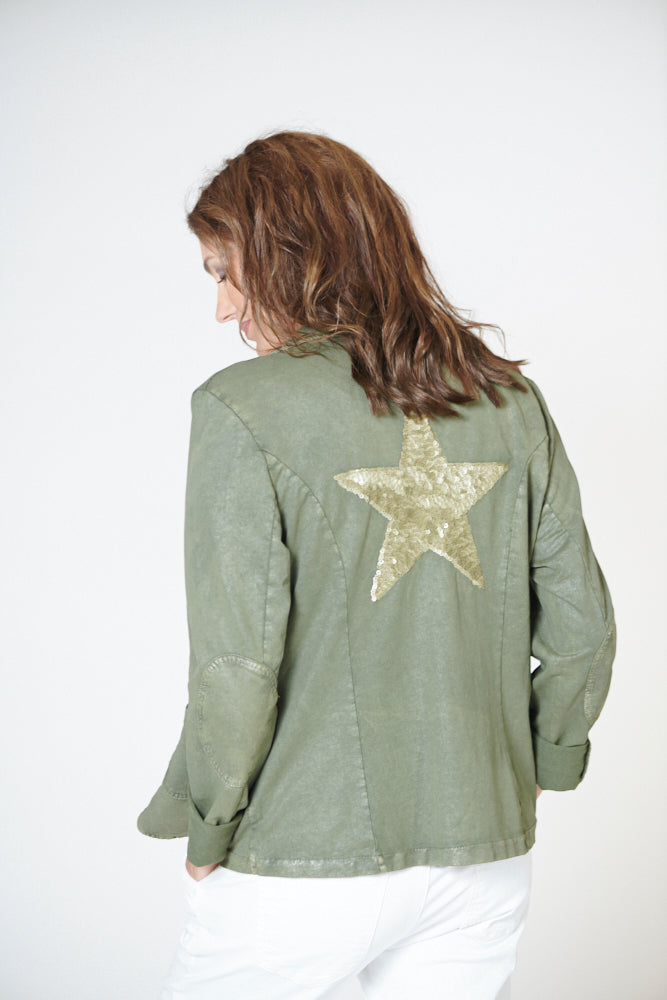 Italian Star Star Back Jacket