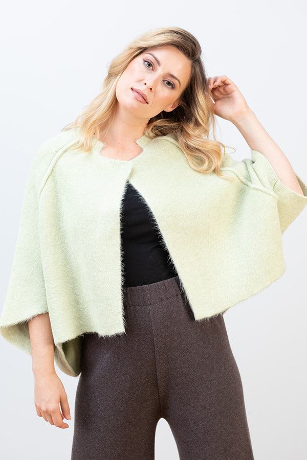 Z132 JJ Sisters Wool Blend Swing Cape