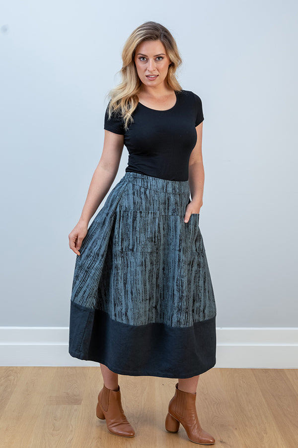 JJ Sisters Printed Cotton Skirt