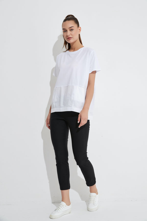 Tirelli Spliced Pocket Tee