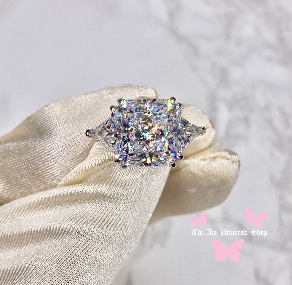The Lana Radiant Cut Ring