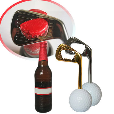 Creative Golf Ball Bottle Opener
