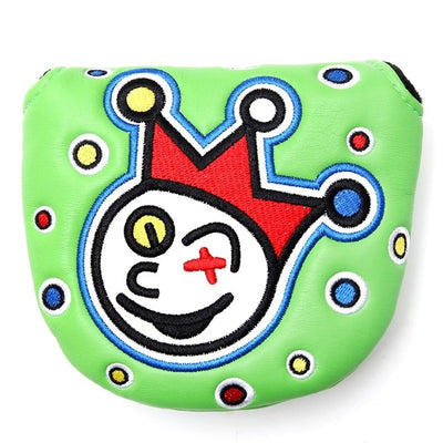 Joker Clown Design Putter Headcover