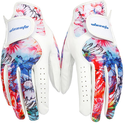 1 pair ladies golf gloves
