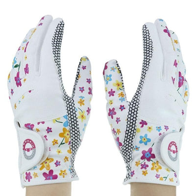 1 Pair WOMEN Golf Gloves