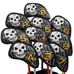 NEW  Skull Design Head covers