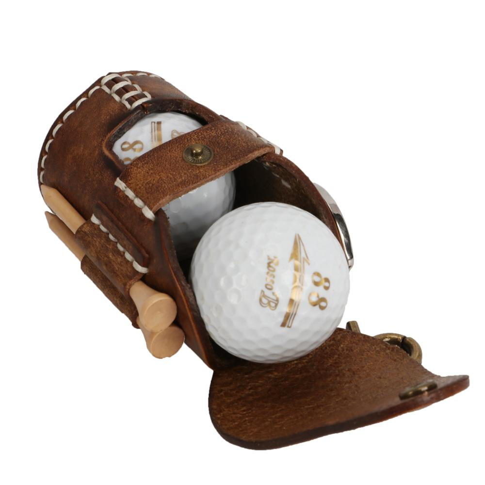 Portable Golf Ball Bag Holder