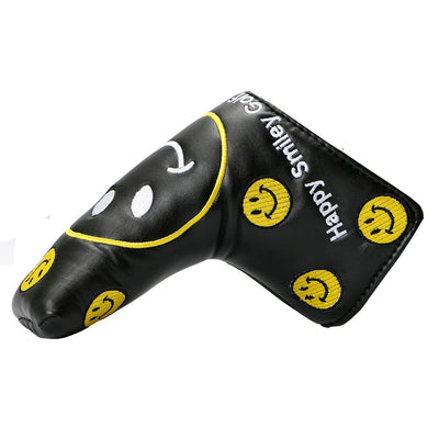 Golf Putter Smiley face Headcover