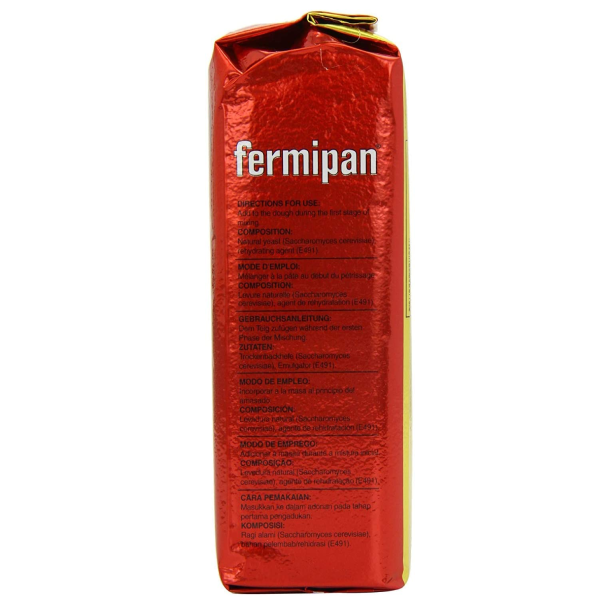 Fermipan Dry Yeast - Side Angle