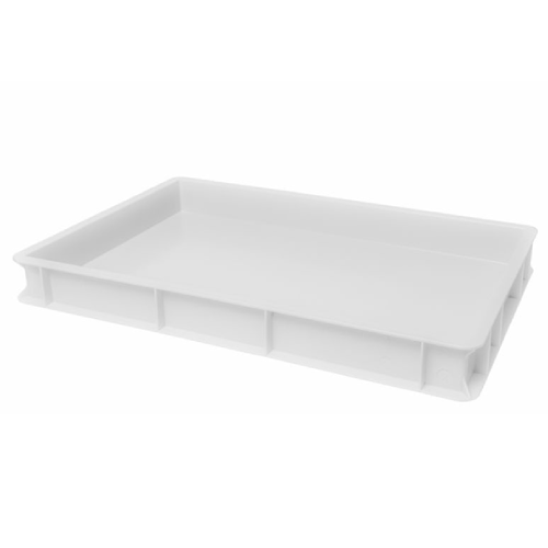GI Metal Pizza Dough Proving Tray - 7cm Height