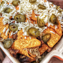 Picture of Candied Jalapenos® Green Rings on nachos