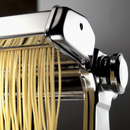 Marcato Atlas 150 'Classic' Pasta Machine Chrome Making Spaghetti