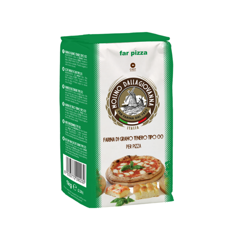 Molino Dallagiovanna Green Pizza Flour 00 - 1kg