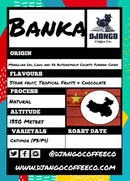 Django Coffee - Banka 250g - Label