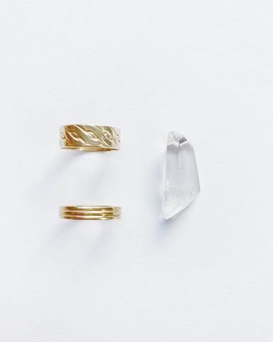 Long Crystal Ring (Pre-Order)