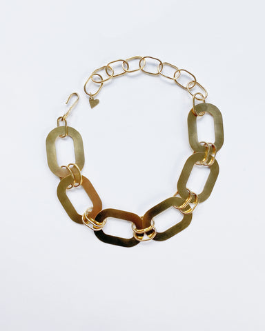 Chunky Chain Statement Choker