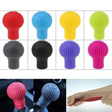Load image into Gallery viewer, Your Brand Silicon Gear Shift Knob Protective Cover with Microfiber Glove