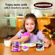 Load image into Gallery viewer, Chocotown Chocolate Spreads -Milk Spreads & Strawberry Spreads- 350 gm
