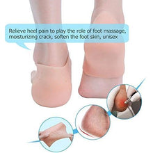 Load image into Gallery viewer, 339 Moisturizing Skin Softening Silicone Gel for Dry Cracked Heel Repair (Multicolour)
