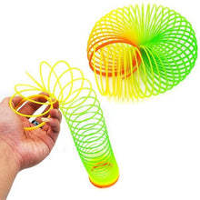Load image into Gallery viewer, 871 Rainbow Magic Slinky Spring Toy (Pack of 12)