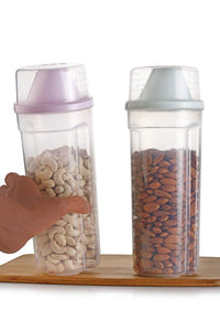 0736 Clear Plastic Bottle Container With Cap