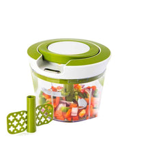 Load image into Gallery viewer, Your Brand Kitchen combo - Manual 2 in 1 Handy smart chopper for Vegetable Fruits with spiral cutter