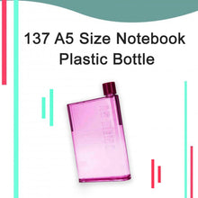 Load image into Gallery viewer, 137 A5 Size Notebook Plastic Bottle (Any olor)